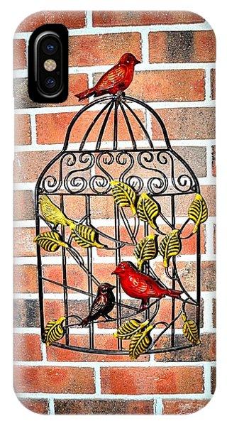 Bird Cage Decor IPhone Case
