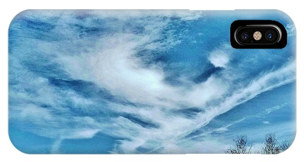 Bird Cloud Soaring By IPhone Case