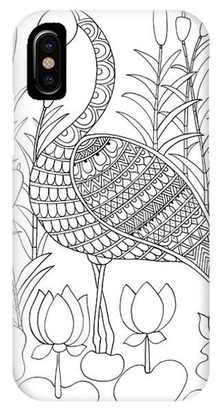 Bird Flamingo IPhone Case