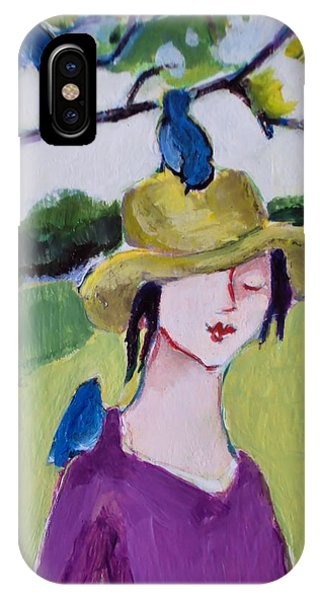 Bird Girl 3 IPhone Case