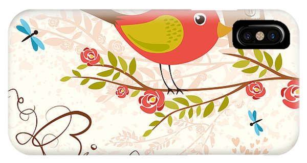 Craft iPhone Case - Bird-mail. Postcrossing Cheerful. Cute by Lesyaskripak