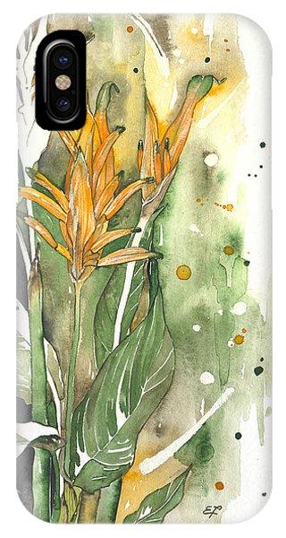 Bird Of Paradise 08 Elena Yakubovich  IPhone Case