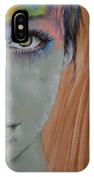Frau iPhone Case - Bird Of Paradise by Michael Creese