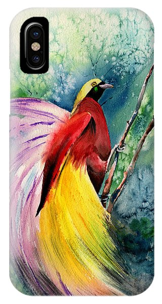 Bird Of Paradise New-guinea IPhone Case