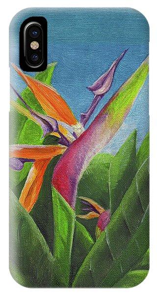 Hawaiian Bird Of Paradise IPhone Case