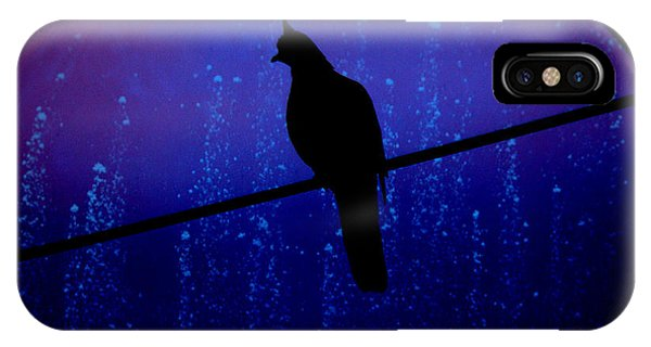 Bird On The Wire ... IPhone Case