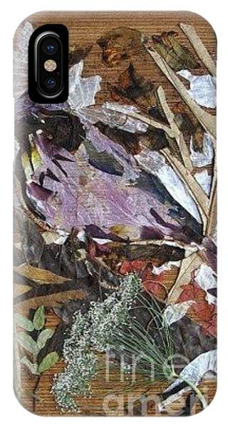 Violet iPhone Case - Bird Scubjoy by Basant Soni