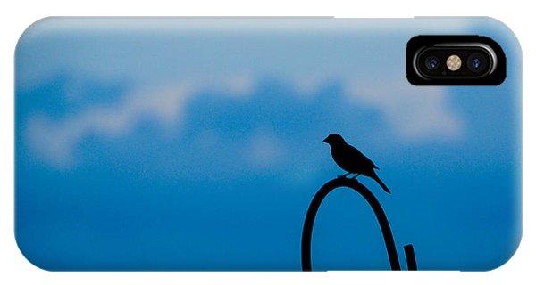 Bird Silhouette  IPhone Case