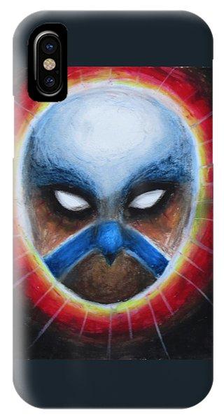 Bird Totem Mask IPhone Case