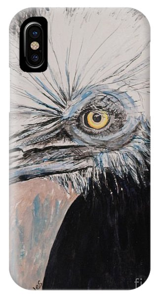 Birdeye Crown Horn Bill IPhone Case