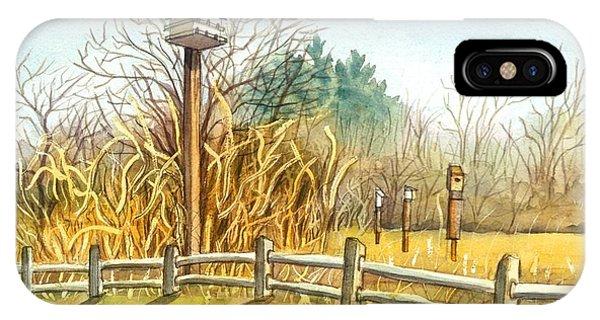 Birdhouse At Gateway National Park IPhone Case