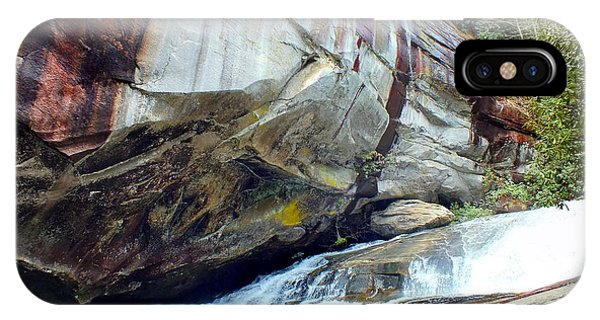 Birdrock Waterfall In Spring IPhone Case