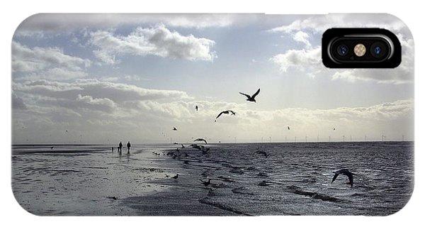 Birds At The Beach 2 IPhone Case