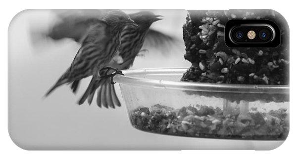 Birds Feeding IPhone Case