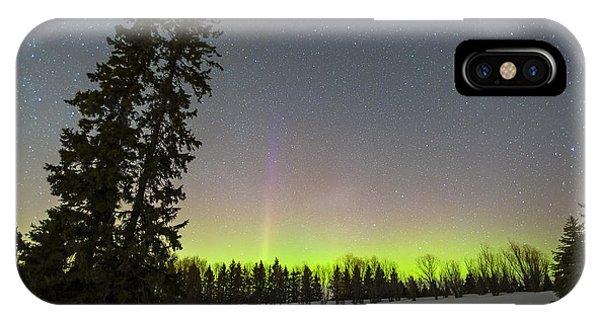 Bird's Hill Aurora One IPhone Case