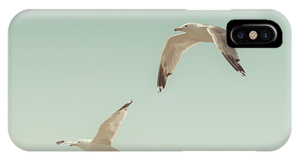 Seagull iPhone Case - Birds Of A Feather by Lucid Mood