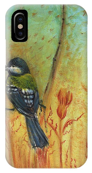 Birds Of A Feather Series3 In Autumn Phone Case by Remy Francis