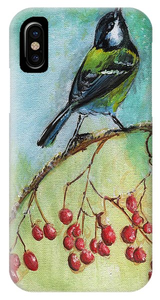Birds Of A Feather Series4 Phone Case by Remy Francis