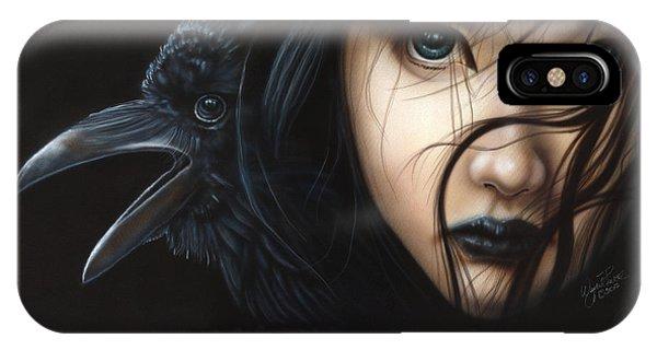 Birds Of Prey- Raven IPhone Case