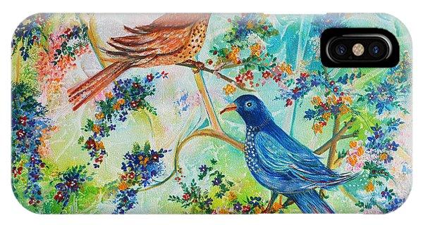 Birds Of Spring IPhone Case