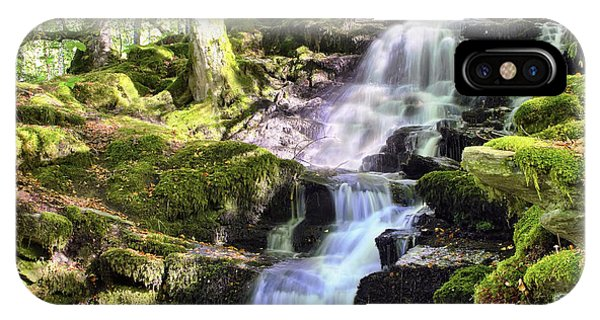 Birks Of Aberfeldy Cascading Waterfall - Scotland IPhone Case