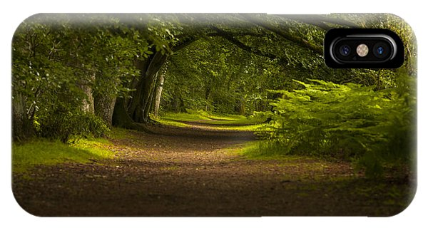 Birnam Woods Landscape Wall Art IPhone Case
