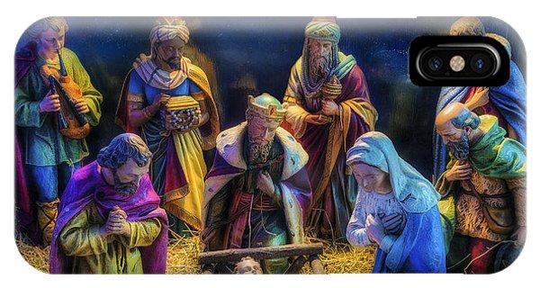 Birth Of Jesus IPhone Case