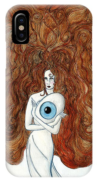 Lupita iPhone Case - Birth Of Vision by Lupita Fernandez Soberon