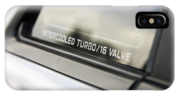Birthday Car - Intercooled Turbo 16 Valve IPhone Case