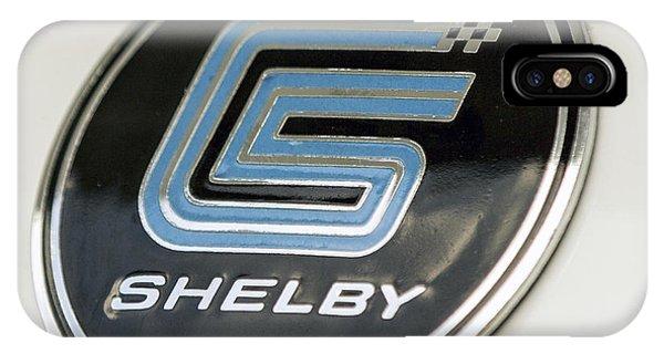 Birthday Car - Shelby Logo IPhone Case