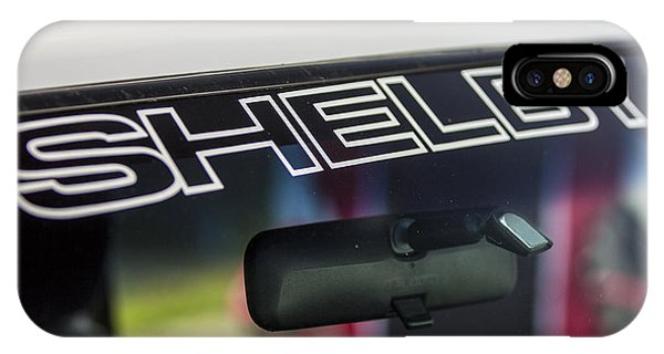 Birthday Car - Shelby Windshield IPhone Case