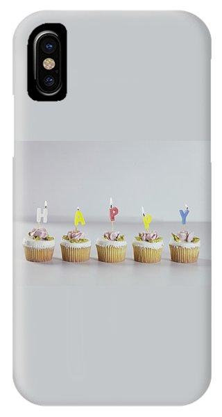 Birthday Cupcakes IPhone Case