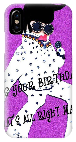 Birthday Mama IPhone Case