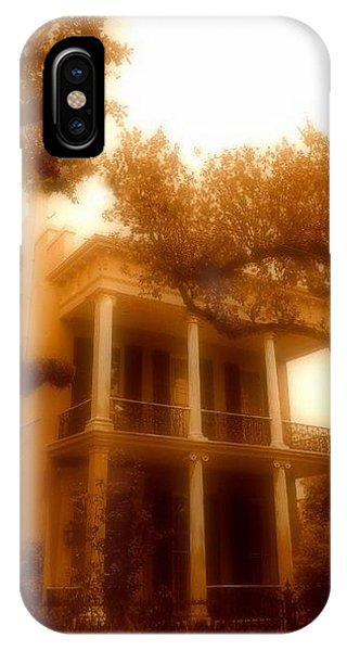 Birthplace Of A Vampire In New Orleans, Louisiana IPhone Case