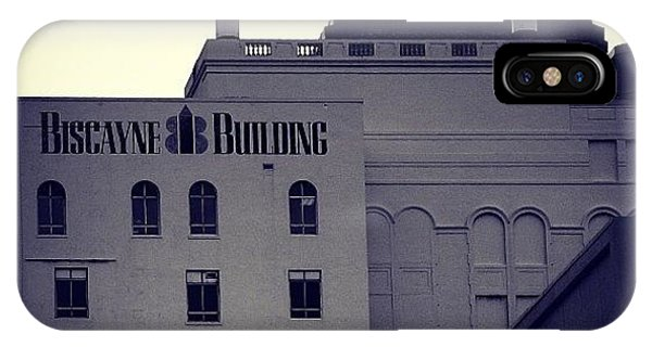 Biscayne Bldg. - Miami ( 1925 ) IPhone Case