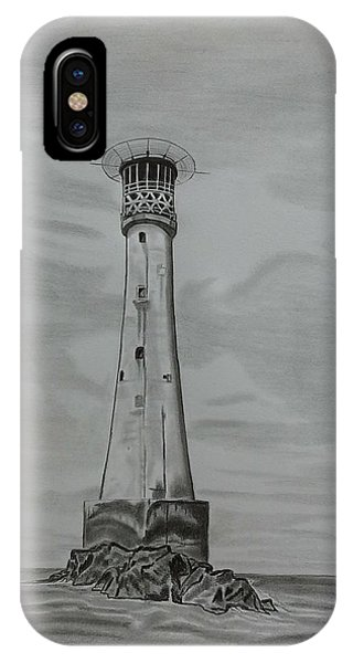 Bishops Rock Lighthouse IPhone Case