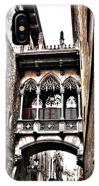 Bishop's Street - Barcelona IPhone Case