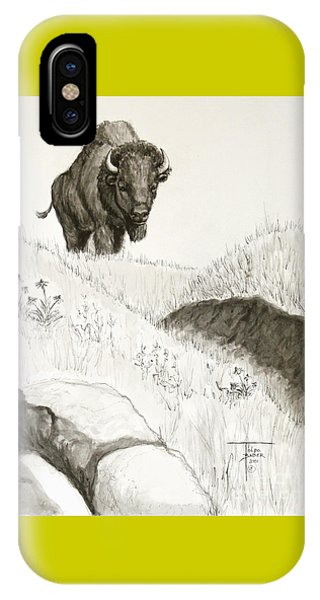Bison Approach IPhone Case