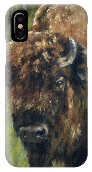 Bison Study - Zero Three IPhone Case
