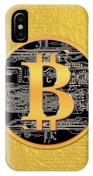 Bitcoin Logo IPhone Case