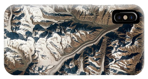 International Space Station iPhone Case - Bivachny Glacier by Nasa