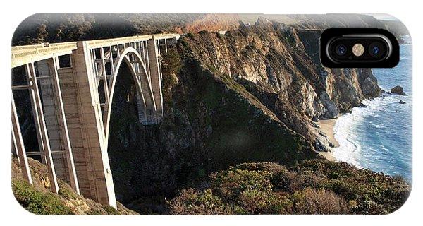 Bixby Bridge Afternoon IPhone Case