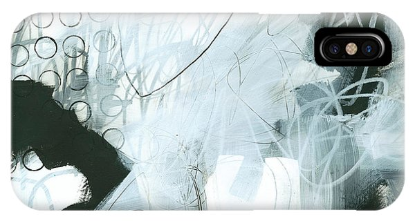 Panel iPhone Case - Black And White #1 by Jane Davies