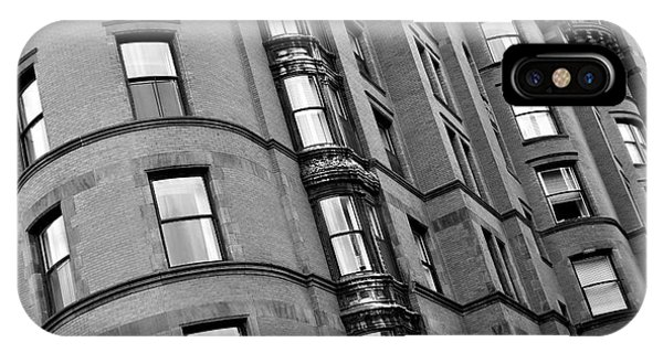 Black And White Building Facade IPhone Case