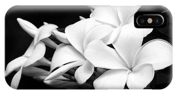 Black And White Lightning IPhone Case