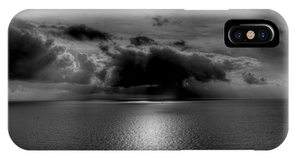 Black And White Of The Med IPhone Case