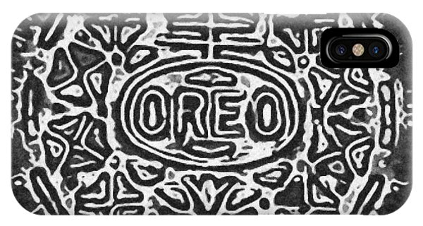 iPhone Case - Black And White Oreo by Rob Hans