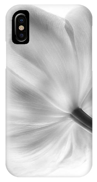 Black And White Tulip IPhone Case