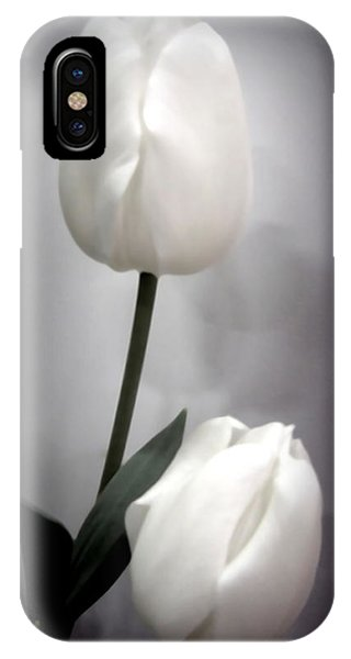 Black And White Tulips  IPhone Case