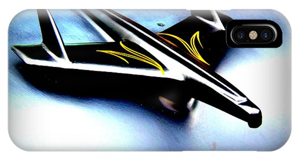 Black And Yellow Hood Ornament  Phone Case by Willy  Nelson